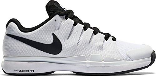 Nike Zoom Vapor 9.5 Tour, Zapatillas de Tenis para Hombre Blanco / Negro (White / Black-Black)
