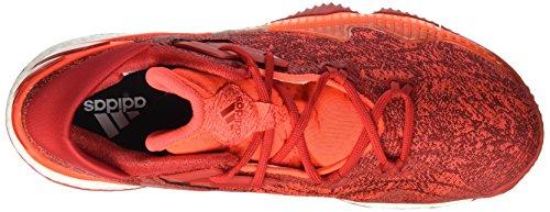 Adidas da Crazylight Boost Lo Scarpe Basket Multicolore (Solred/Scarle/Ftwwht)
