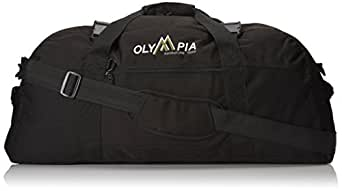 Olympia Luggage 30 Inch Sports Duffel Bag, Black, One Size
