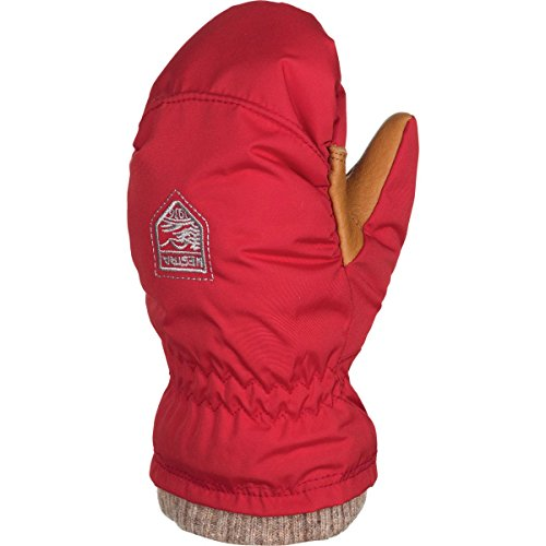 Hestra My First Basic Mitten Todders' Light Red, 1