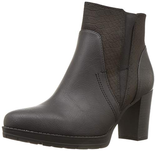 SOUL Naturalizer Women's Nadia Ankle Boot, Black, 10 W US
