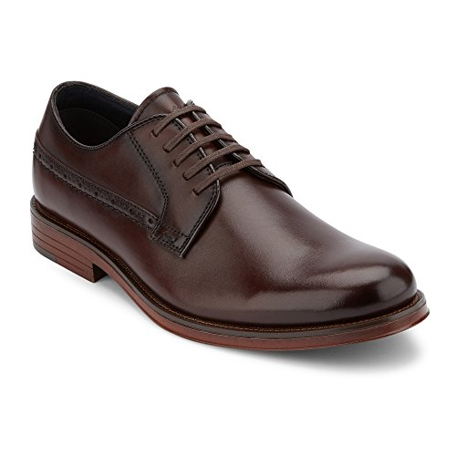 Shoes Burgundy Oxfords (Dockers Mens Albury Leather Dress Oxford Shoe, Burgundy, 10 M)