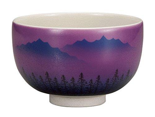 Kutani Yaki Renzan Porcelain 4.7inch Matcha Bowl by Watou.asia