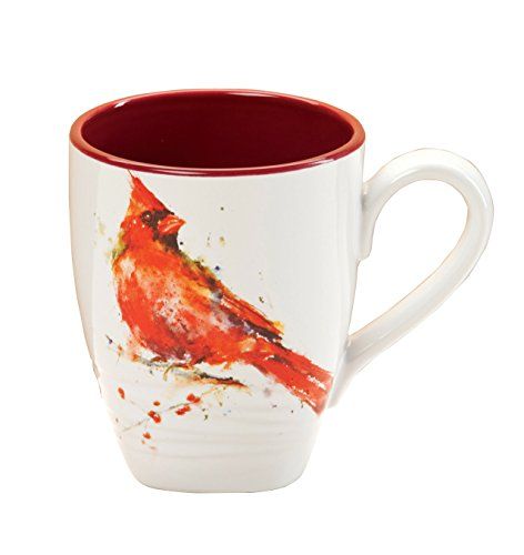 Dean Crouser Stoneware Cardinal Mug from DEMDACO
