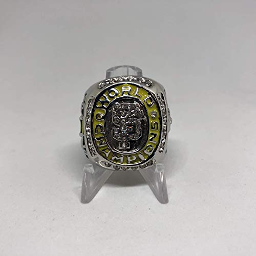 2010 Manager Bruce Bochy San Francisco Giants High Quality Replica 2010 World Series Ring Size 13-Silver