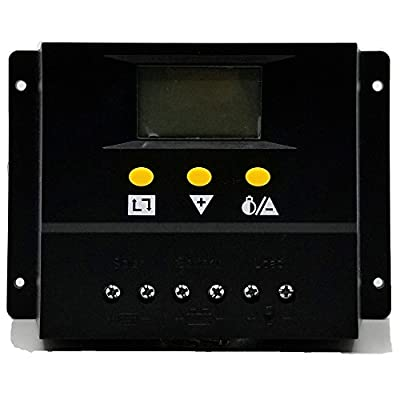 ZHC Solar Charge Controller 60A/80A PWM PV Regulators with LCD Monitor