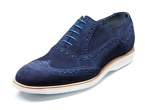 Barker Shoes - Zapatos de cordones para hombre Azul azul marino