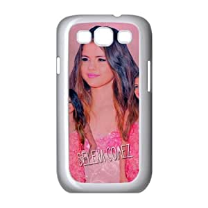 selena gomez pink dress Samsung Galaxy S3 9300 Cell Phone Case White xlb2-373076