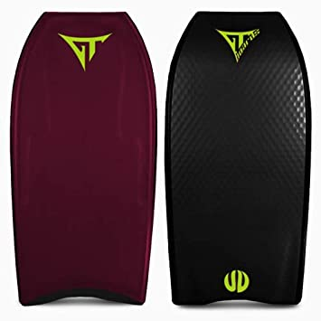 lordofbrands Body Bodyboard Deck Tabla GT Boards - Mega V Signatures Stout Black 41š: Amazon.es: Deportes y aire libre