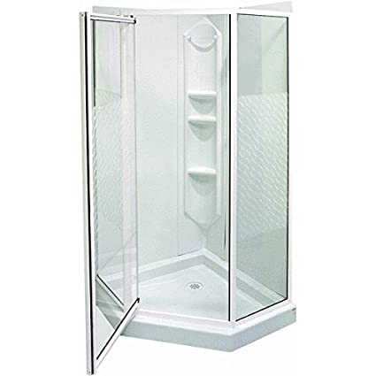 Maax Inc 38X38 Neoangle Shower Kit Wht