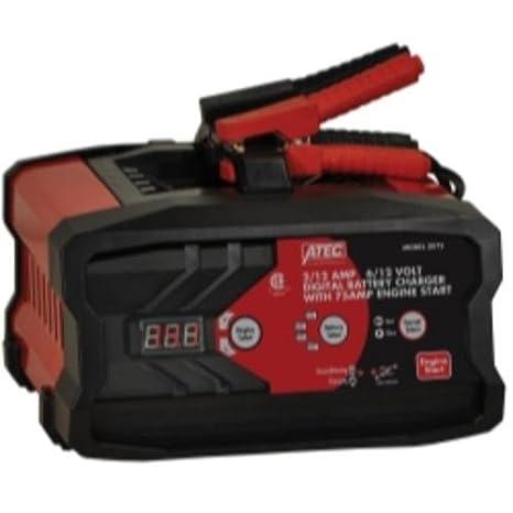 Amazon.com: ATEC 2/12 amp 6/12 voltios Digital Cargador de ...