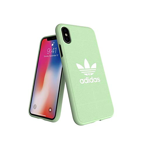 the latest 59ea9 f4b36 adidas Originals Moulded Case Canvas for iPhone X/XS - Clear Mint