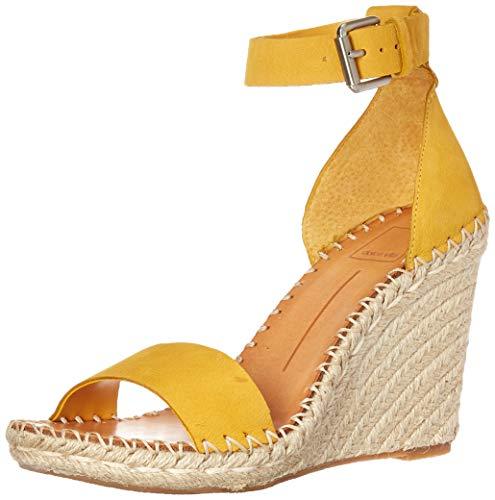 (Dolce Vita Women's Noor Wedge Sandal Honey Nubuck 9 M US)