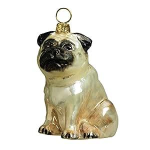Alegría al mundo europeo coleccionables de vidrio soplado mascota adorno, amasado del cervatillo