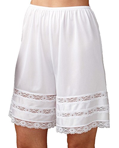Velrose Snip-it Pettipants (3362), White, 3X
