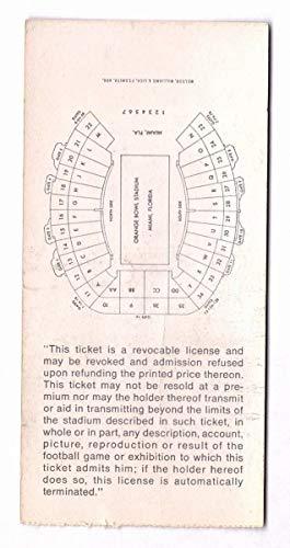 Super Bowl V Baltimore Colts Vs. Dallas Cowboys Ticket Stub 129055