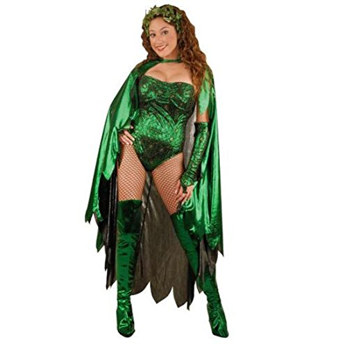 Adult Women's Poison Ivy Costume (Sz: Medium 8-10)