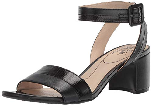 LifeStride Women's Carnival Heeled Sandal, Black, 8.5 M US