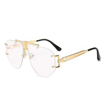 BFQCBFSG Gafas De Sol para Hombre Y Mujer Modernas Retro ...