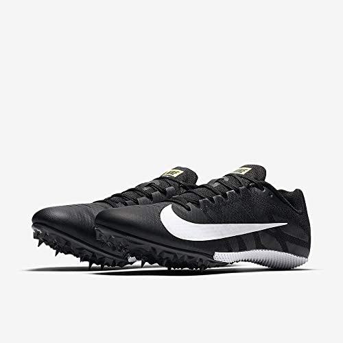 Zoom Rival S 9 Track Spike Black/White/Volt Size 8 M US