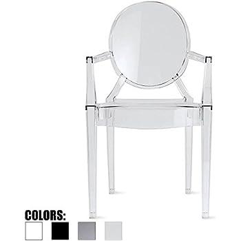 Amazon Com 2xhome Clear Modern Contemporary Louis