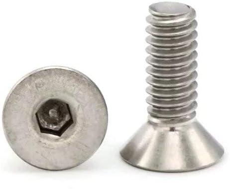 25, 5//8-11 x 2 316 Stainless Steel Flat Head Socket Cap Screws 5//8-11