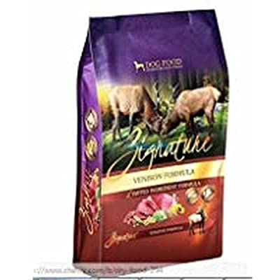 Zignature Venison Formula Limited Ingredient Dry Dog Food 27 lb. Bag. Fast Delivery!