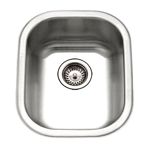 Houzer CS-1407-1 Club Series Undermount Medium Bowl Bar Prep Sink
