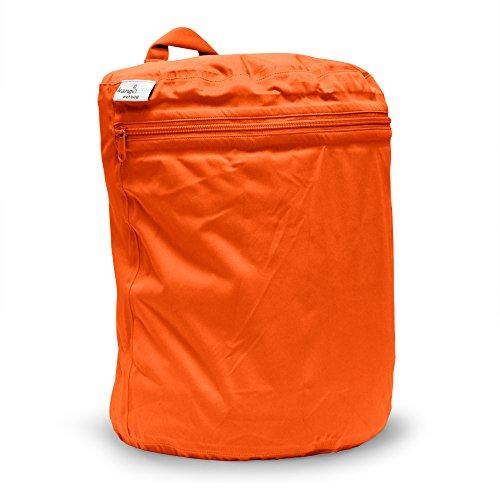 Kanga Care KRWETB_OS-S028 - Bolsas impermeables para pañales sucios, niños, 6-9 meses, color gris Naranja (Poppy)