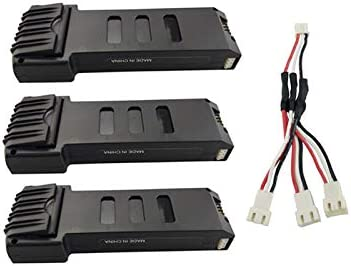 Opinión sobre Faironly - Batería de Litio de 7,4 V y 1200 Mahl con línea de sujeción de Carga de 1 a 3 líneas para E511 E511S