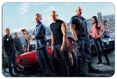 US Iron Posters Fast and Furious Cast Metal 8x12 Poster Imprint