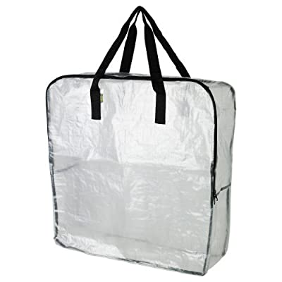 Extra Large Clear Storage Bag for Clothing Storage, Under the Bed Storage, Garage Storage, Recycling Bags