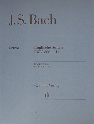 English Suites Bwv 806-811