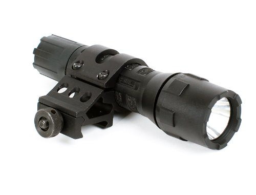Streamlight PolyTac LED Flashlight with MSP Offset Mount (Best Surefire Weapon Light For Ar 15)