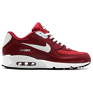63c23611b77 NIKE AIR MAX 90 ESSENTIAL-43-9.5 537384-605 -43-9.5 Rouge  Amazon.co.uk   Shoes   Bags