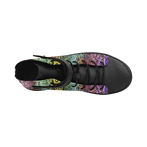 Boost Toe Abstract Toe Color Sneaker Womens Round Color Round Artsadd Abstract Womens Artsadd Shoes nxnAzqw47