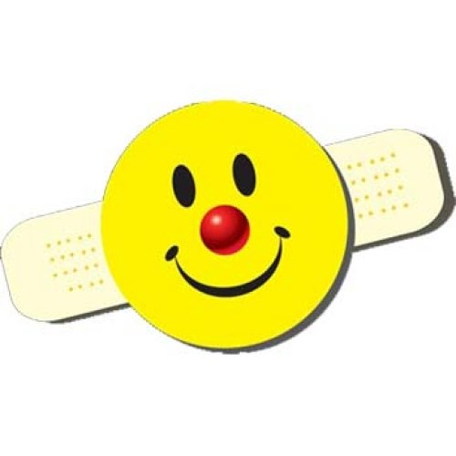 Boo Bandage (Smiley Boo-Boo Bandage Stickers)