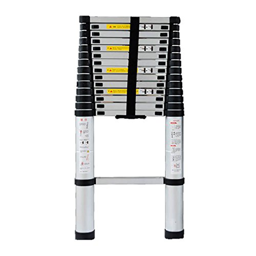 Sarada 伸縮 伸縮梯子 はしご 3.8m 梯子 折り畳み アルミ製 B079SSNRLR 3.8m 3.8m