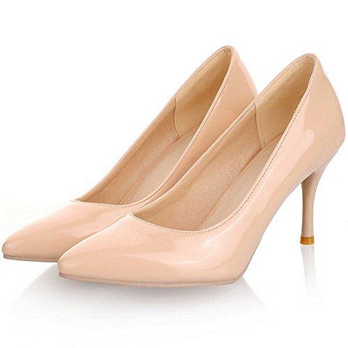 robe talons de classiques LongfengMa à femmes chaton bureau chaussures nue de chaussures base I1zPxqz