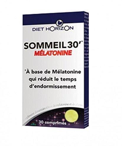 Diet Horizon Sommeil 30 - Lote de 30 comprimidos con melatonina