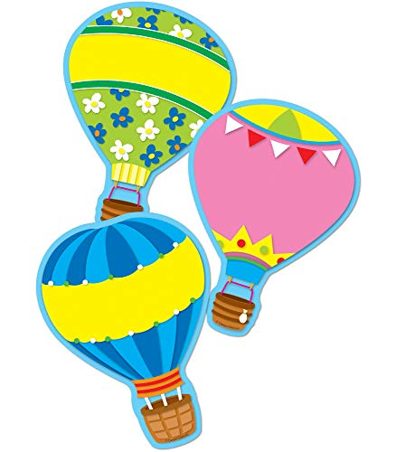 Bulletin Board Ideas For January (Carson Dellosa - Hot Air Balloons Colorful Cut-Outs, Classroom Décor, 36)