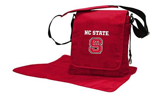 NCAA North Carolina State Wolfpack Messenger Wickeltasche, 13,25X 12,25x 14,6cm, rot
