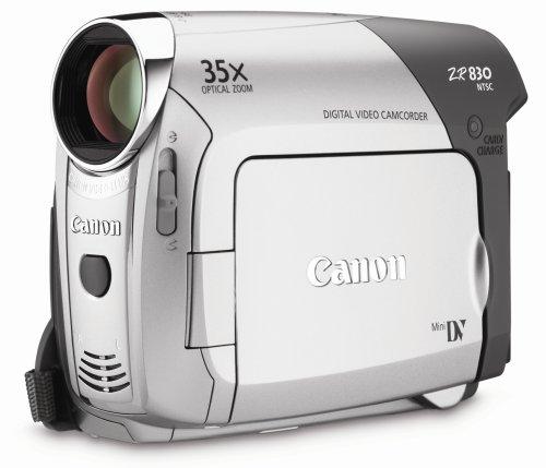 amazon com canon zr830 minidv camcorder with 35x optical zoom rh amazon com Canon ZR500 Accessories Drivers Canon ZR500