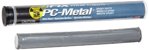PC Products 4555 PC-Metal Moldable Epoxy Putty, 4 oz Stick, Dark Gray by PC Products