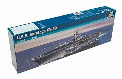 USS Saratoga CV60 Aircraft Carrier 1/720 Italeri