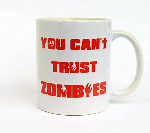 Zombie Mug Ceramic Coffee Cup Funny Mug Gift Office Mug Halloween Mug
