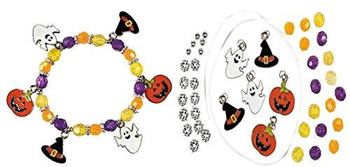 Fun Express Halloween Charm Bracelet Craft Kit -