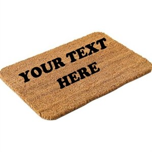 Personalised door mat medium kitchen home for Door mats amazon