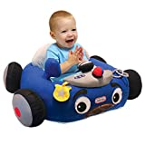Little Tikes Plush Toy Play Car Floor Seat Positioner & Lounger, Tikes Patrol Police Car