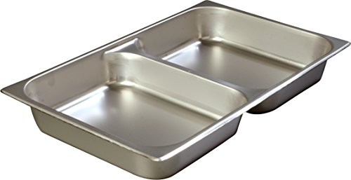Carlisle 607002D DuraPan Steam Table Pans, Set of 6 (Full-Size, 2 1/2-Inch, Stainless Steel, ()